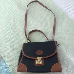 VTG Dooney & Bourke Y&S Lock and Key Shoulder Bag